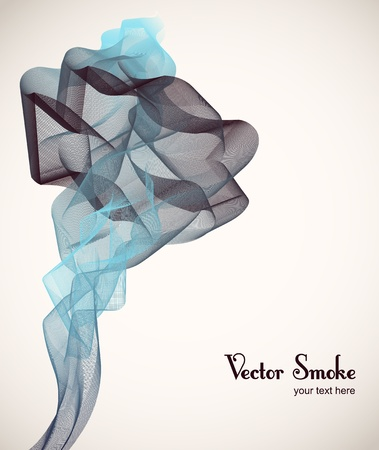 smoke background Stock Vector - 12304149