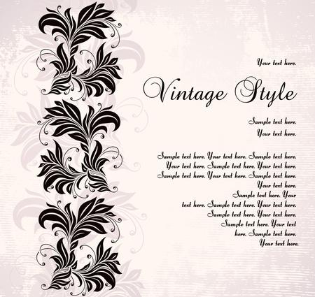 old wallpaper: vintage background
