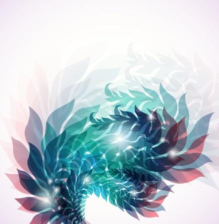 transpiration: vector background