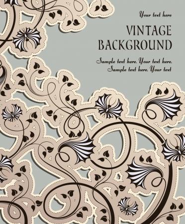composition book: vintage background