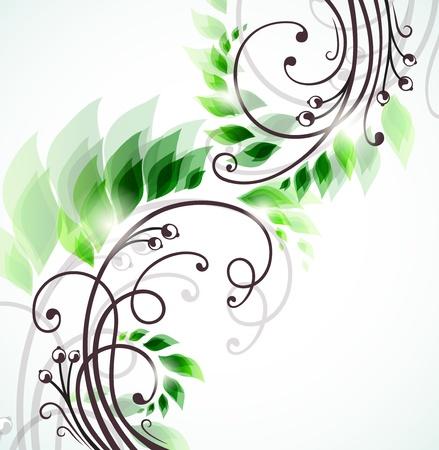 filigree: spring background