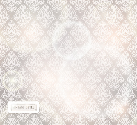 light effects: background with seamless pattern and light effects