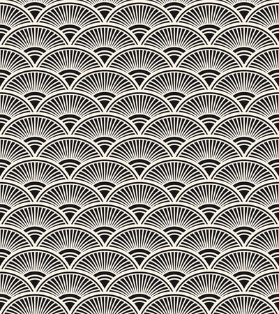 retro seamless pattern Illusztráció