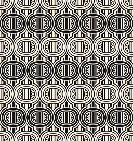 pattern vintage: seamless checkered pattern (series) Illustration