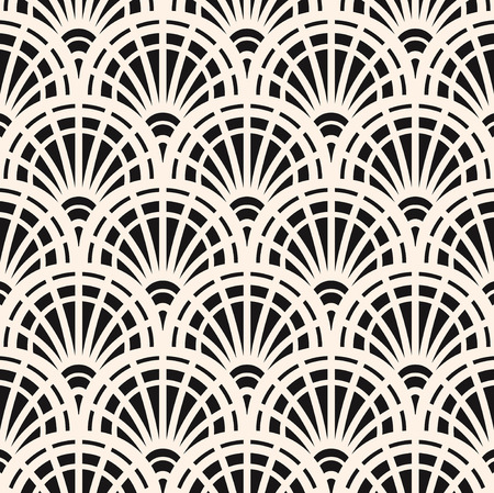 repeat structure: Vector seamless pattern. Regular backdrop template. Repeating  stylized geometric wood elements Illustration