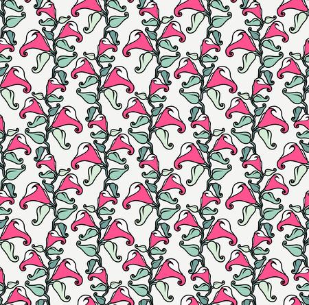 callas: seamless pattern with callas Illustration