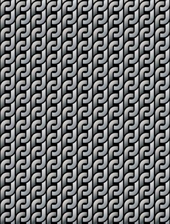 wickerwork: seamless pattern