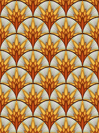 fabric art: modern seamless pattern