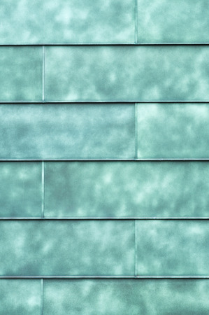 Real seagreen wall square elements texture