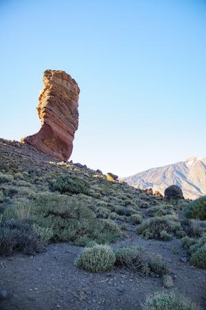 garcia: Cinchado rock, Roques de Garcia, Tenerife, Canary islands, Spain