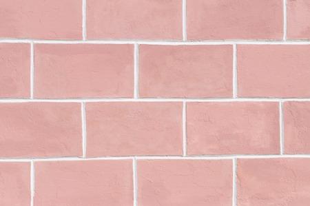 paredes de ladrillos: ladrillo de estilo retro de color rosa fondo de la pared