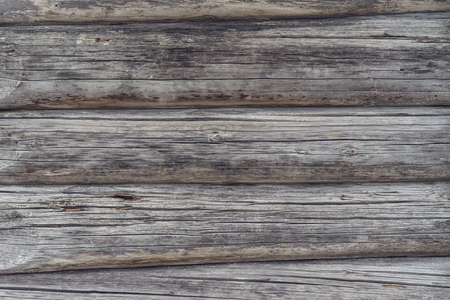 timbered: Fragment of an old timbered wall, wooden background Stock Photo