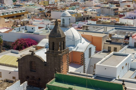 View across the roof tops of Las Palmas, Gran Canaria, Canary Islands, Spain Reklamní fotografie