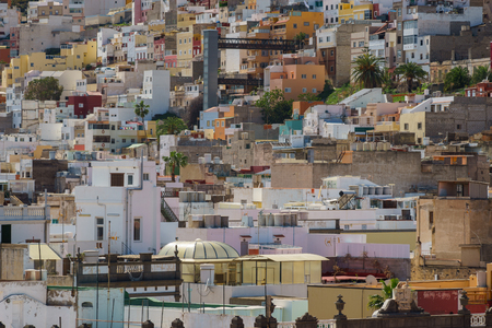 Residential area in the city of Las Palmas, Gran Canaria, Canary Islands, Spain