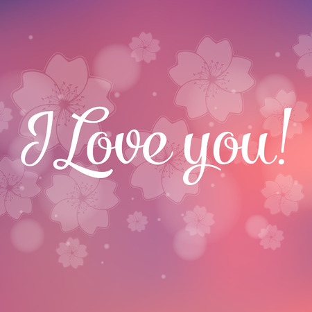 captivated: Valentine I Love You Vector Lettering stylish text
