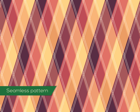 easier: This pattern tiles seamlessly, so it can cover shapes of any size in perfect quality. Vector file contains swatch for easier useage. Illustration