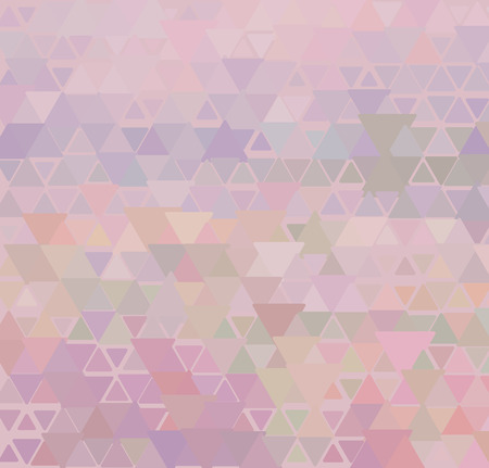 illustration of delicate pink triangle background