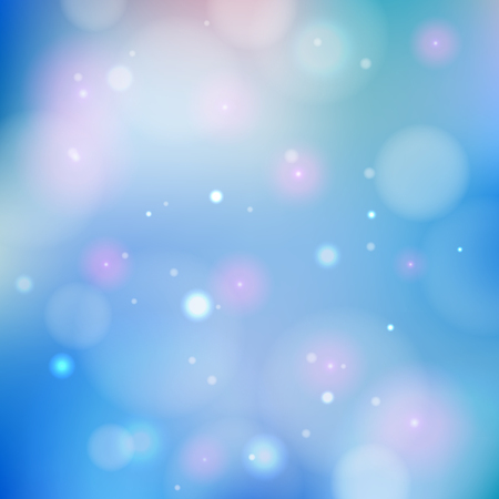 Colorful bokeh background. Ilustrace