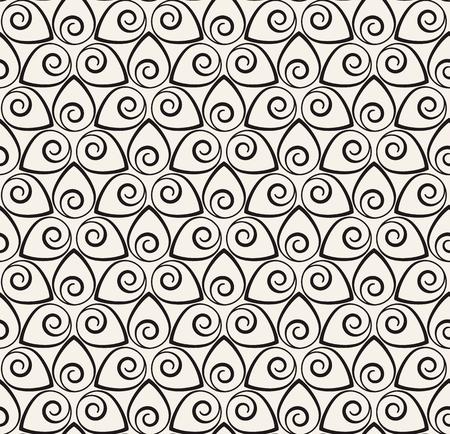Vector naadloos patroon. Moderne stijlvolle textuur. Herhaalde lijnen geometrische achtergrond