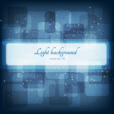 Abstract magic lights background. Good template for postcards or a bookcover eps 10