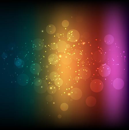 Vector illustratie van abstracte regenboog achtergrond eps 10 Stock Illustratie