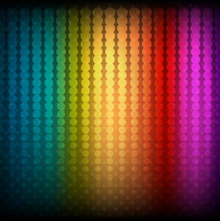Vector illustration of abstract rainbow background eps 10