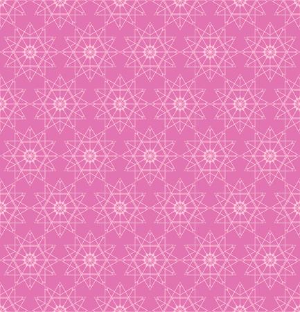 Naadloos patroon. Het herhalen van moderne modieuze geometrische textuur met lineaire ruitnetwerken, sterren, overzichtsvierkant. Vector hedendaags ontwerp