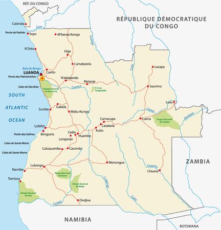 zambia: angola road map