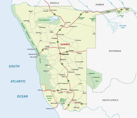 namibia: namibia road map