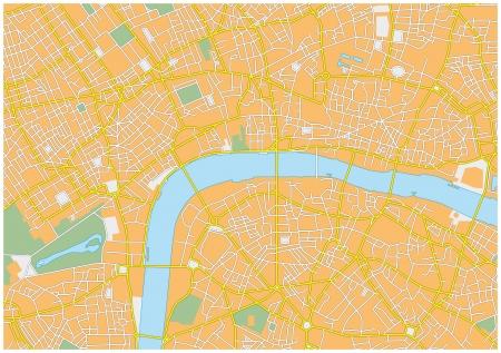 city map: London city map