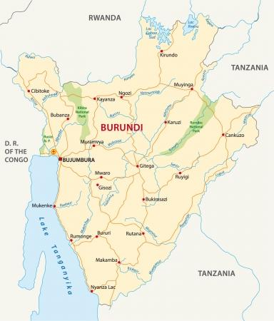 bujumbura: Burundi road map
