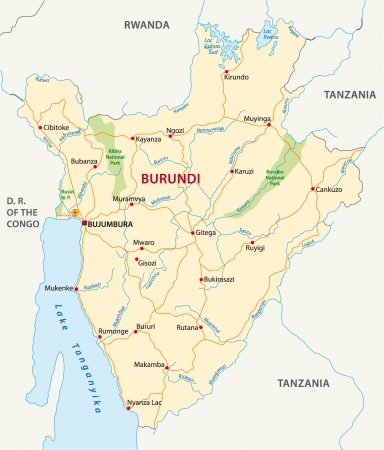 burundi: Burundi road map