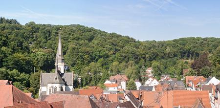 hessen: Altstadt von Eppstein,Hessen, Deutschland