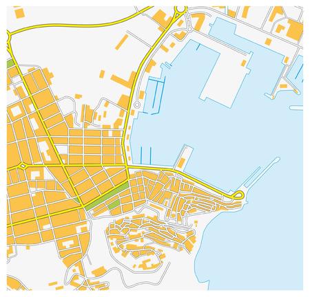 ibiza: Ibiza city map