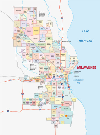 milwaukee neighborhood map