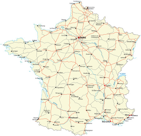 road map: france road map