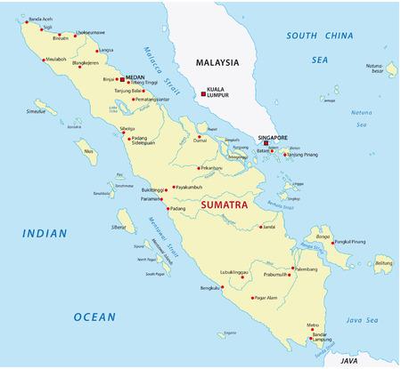 sumatra: sumatra map