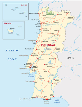portugal road map