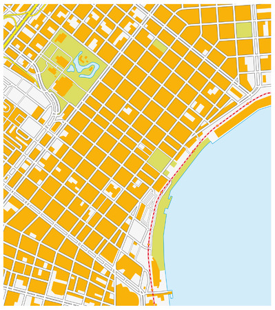 quarters: new orleans french quarter map