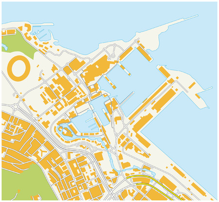 cape town: cape town waterfront map