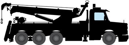 tow: breakdown truck