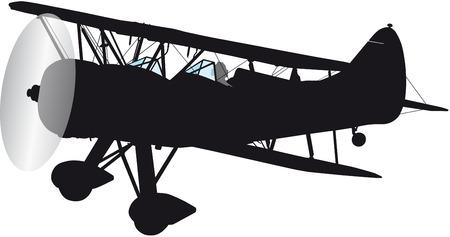 biplane: biplane aircraft