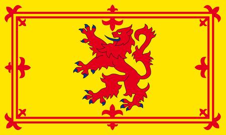 スコットランドの手がつけられないライオン