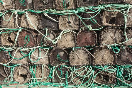 crab pots: crab pots