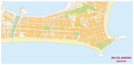 street map: ipanema map