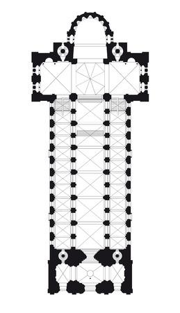 floor plan: cathedral floor plan