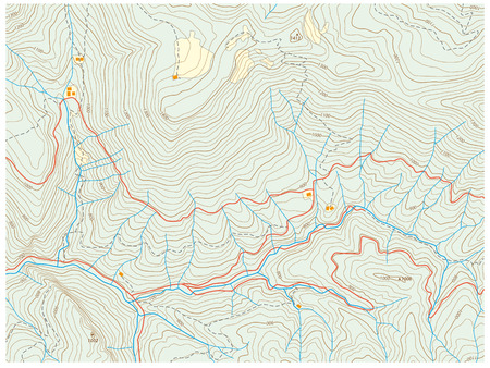 topographic map