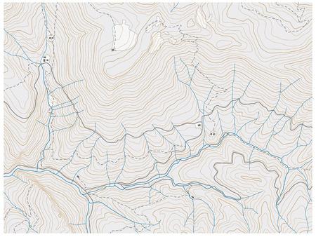 Mapa topográfico  Foto de archivo - 39679786