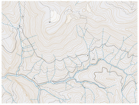 topographic map: topographic map