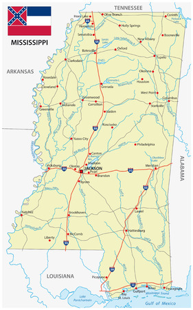 Arkansas Road Map Royalty Free Cliparts Vectors And Stock